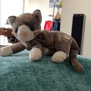 Other - Cappuccino Cat beanie baby RARE